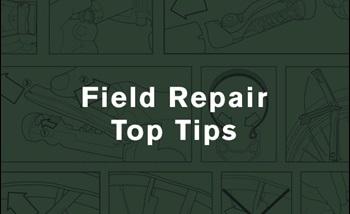 field repair top tips