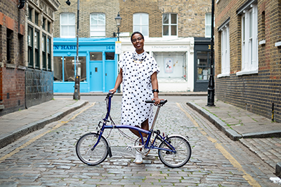Brompton x Protected Species, Jools Walker interviews Rebecca McElligott,