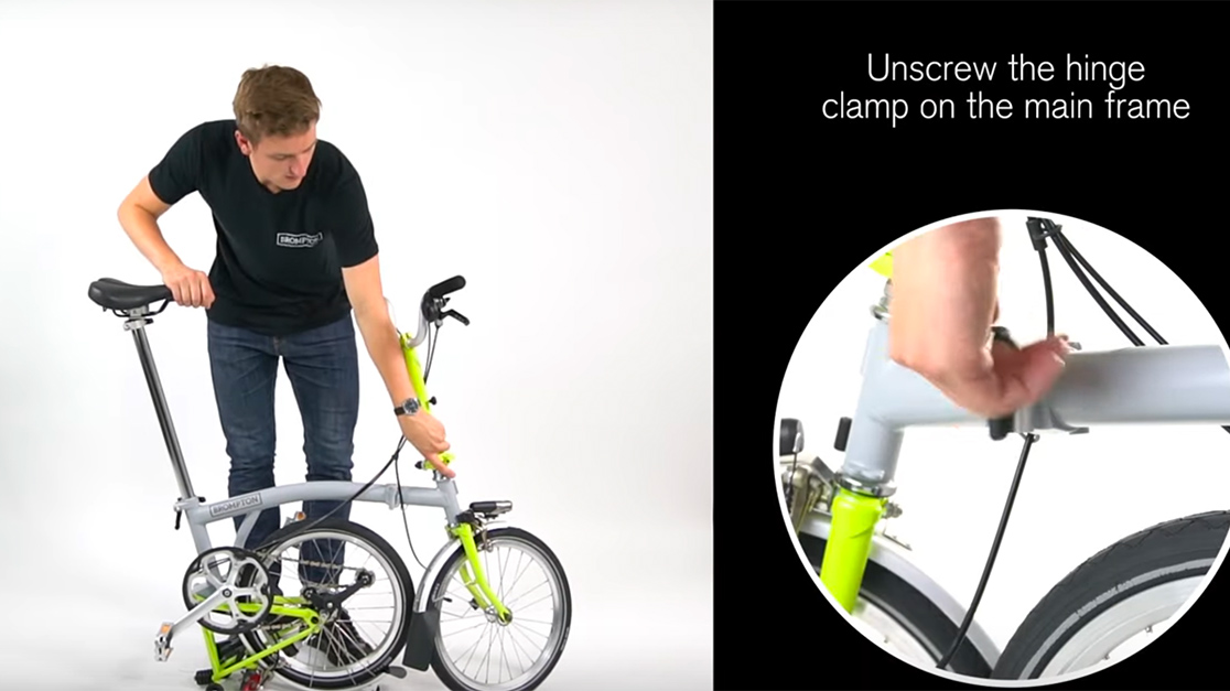 Quick Start Guide, How to Fold Your Brompton Bike